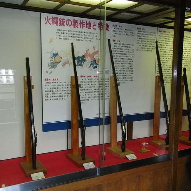 Matsumoto Castle ปืน